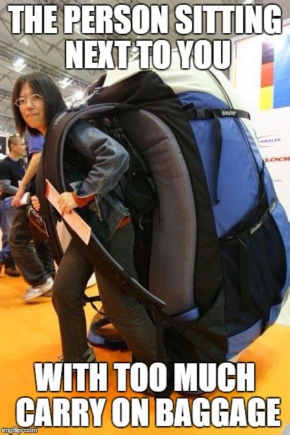 Carry On Meme - short jokes about the travel industry the travel tart blog