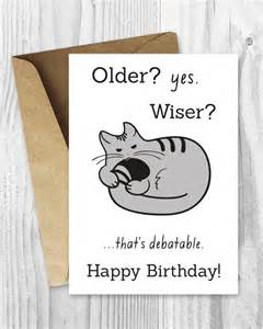 Funny Happy Birthday Card Printable