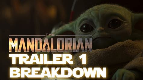 The Mandalorian Season 2 Trailer Breakdown - Sasha Banks ...