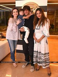 AbRam And Nita Ambani Drop By Gauri Khan Designs