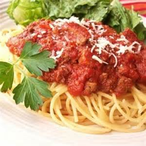 Spaghetti with Meat Sauce Slow Cooker