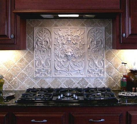 handmade lion panel  bouquet tiles decorative