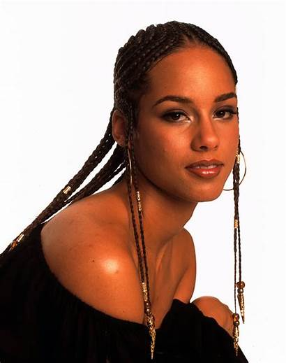 Alicia Keys Hairstyles Hair 2001 Braids Short