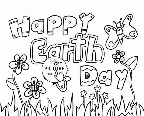 Pin Day-coloring-page-free-printable-earth-jumbo On Pinterest