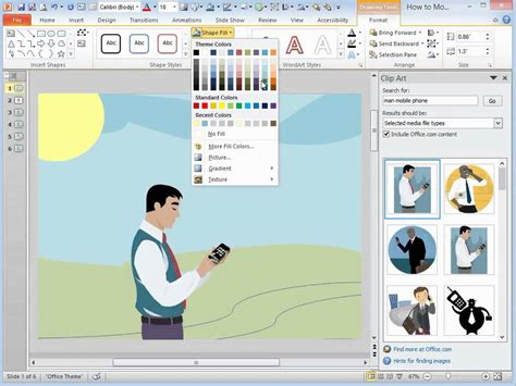 How To Insert Clipart In Powerpoint 2013 Insert Clip Powerpoint 2016 Clipart Vector Design