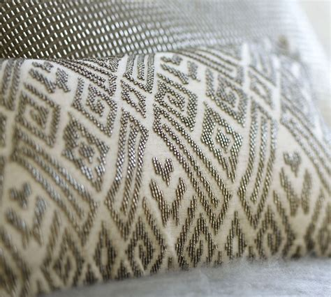 Maddie Beaded Lumbar Pillow Cover Traditional by The Design The Maddie Pillow S Intriguing Story