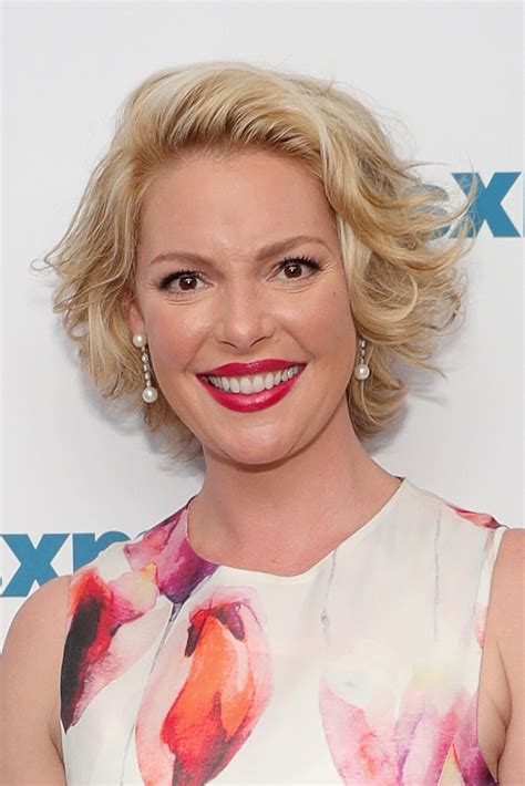 katherine heigl curled out bob short hairstyles lookbook