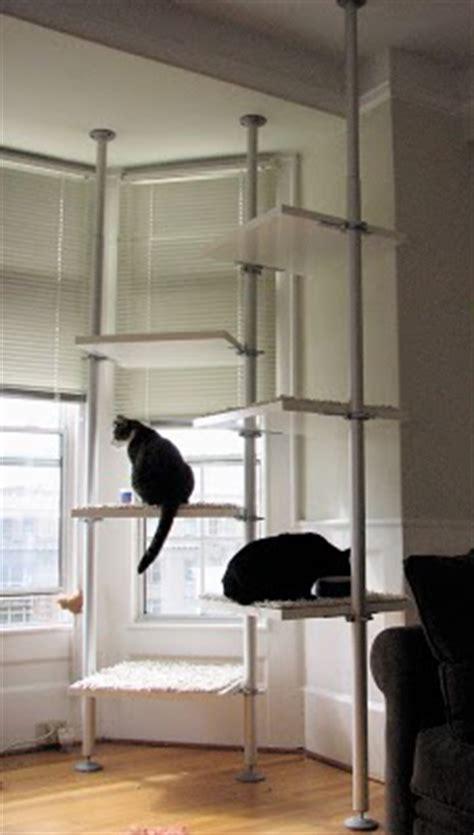 diy cat towers  ikeas stolmen pet project