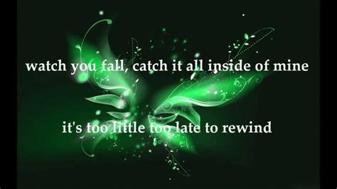 Butterfly Effect Lyrics The Butterfly Effect In These Hands W Lyrics Youtube