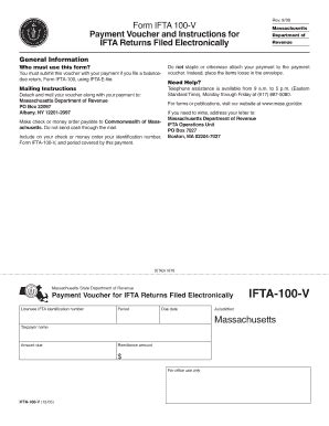 ifta 100 form mass ifta 100 fill online printable fillable blank