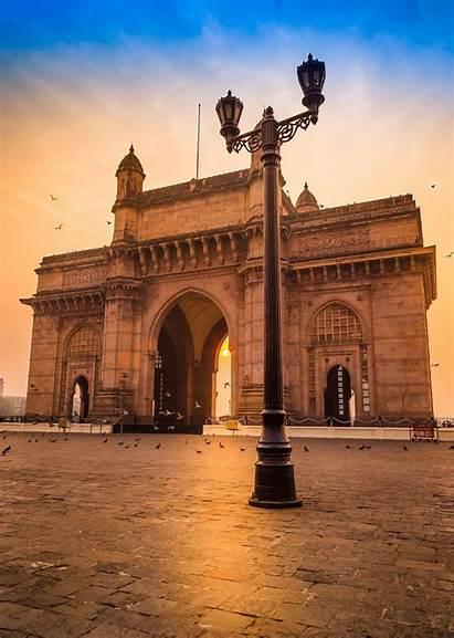 India Gateway Sunrise Flickr Maharashtra Travel Amazing