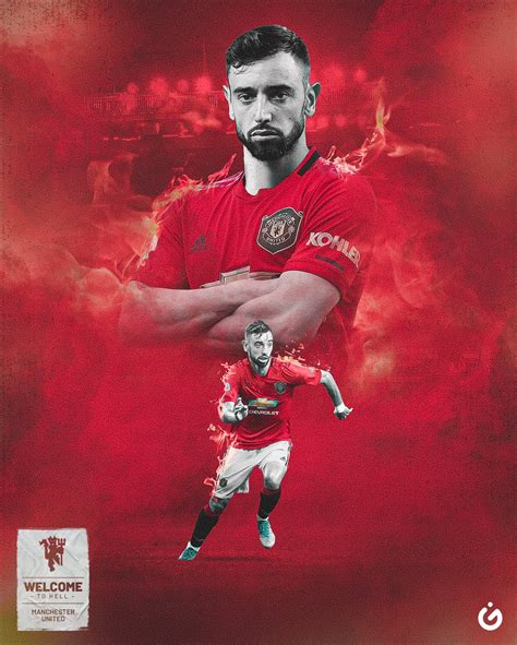 Bruno Fernandes Hd Wallpapers At Manchester United Man
