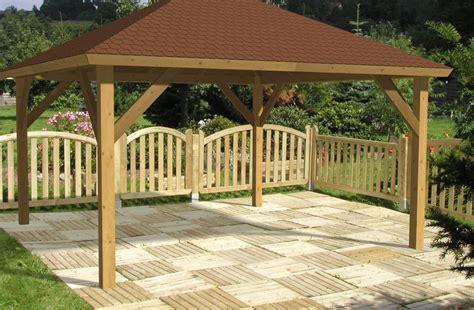 Bemerkenswert Deko Idee Holz Pavillon Aus Holz