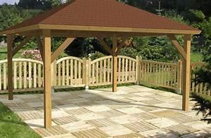 Holzpavillon Selber Bauen : pavillon aus holz ~ Orissabook.com Haus und Dekorationen