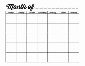 family binder printables the girl creative With blank one month calendar template