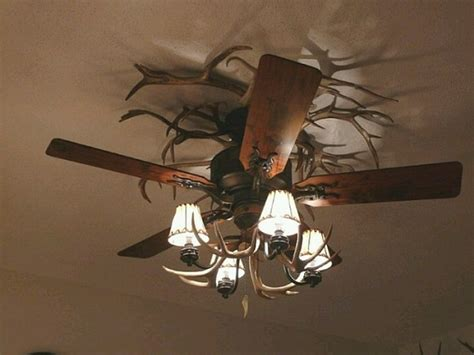 Camo Bedroom Ideas by Unique Antler Rustic Ceiling Fans With Lights Home Interiors