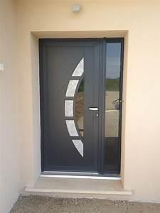 porte alu alu glass With porte d entrée ral 7016