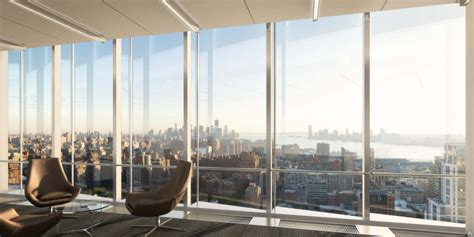 with a city view world of architecture hudson yards new neighborhood for Office