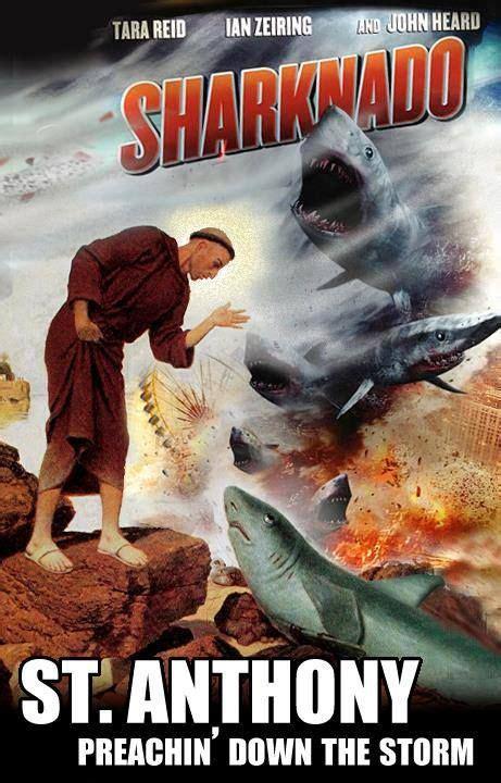 St Anthony Vs The Sharknado Catholic Memes Catholic