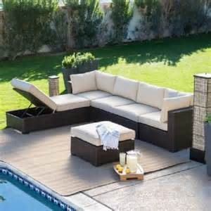 cheap outdoor sectional patio furniture home ideas