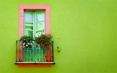 Wallpapers Desktop Wall Walls Houses Window Pretty