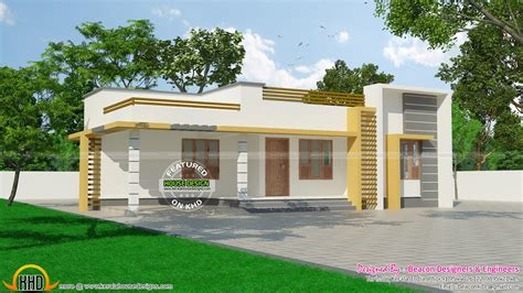 1000 Sq Ft House Plans 2 Bedroom Indian Style by 120 Sq M Small Budget Kerala Home Kerala Home Design And