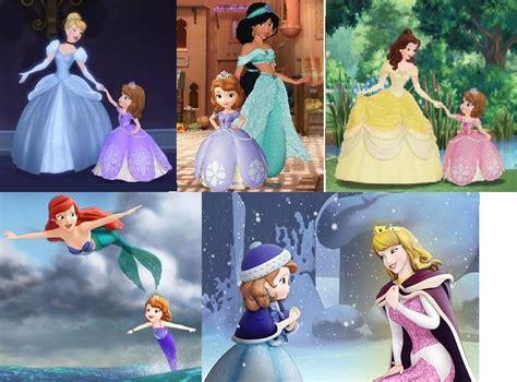 rencontre avec princesse sofia et les autres princesses disney