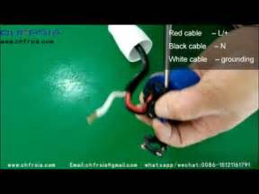 how to do wiring 3p industrial plug wiring demonstration youtube