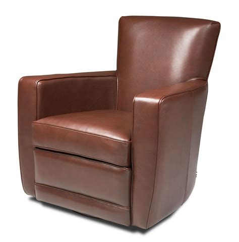 swivel leather chairs ethan swivel chair creative classics 2639