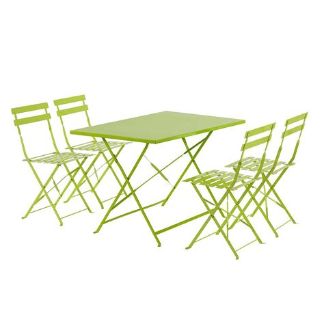 chaises de jardin pliantes awesome table et chaise de jardin blanche contemporary