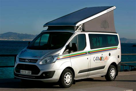ford transit nugget location cer ford transit nugget en andalousie caracolvan
