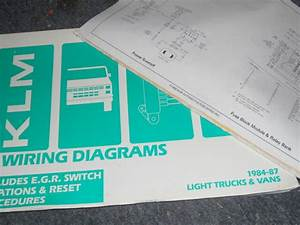 1984 1985 1986 Dodge Ram 50 Raider Wiring Diagrams Manual