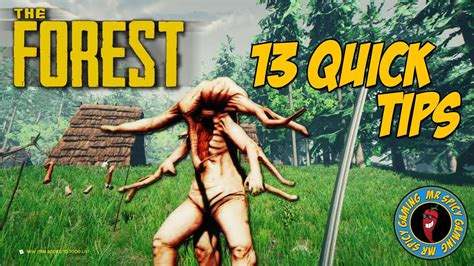13 Quick Tips For The Forest  The Forest Tips & Tricks