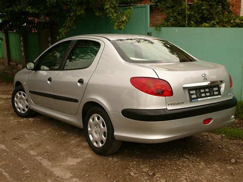 2007 Peugeot 206 Sedan Pictures 14l Gasoline Ff
