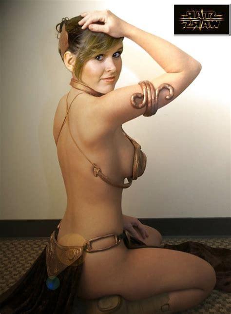 Princess Leia Beautiful Naked Cosplay Zb Porn