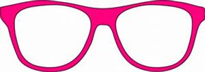 Pink Glasses Clipart