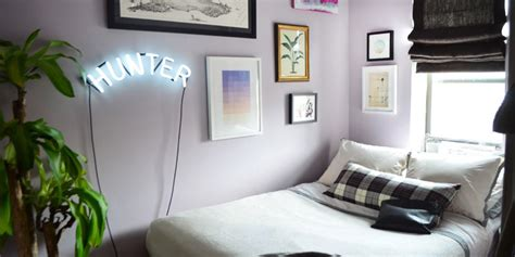 Bedroom Ideas For Small Square Rooms by Small Bedroom Tricks From A Real Tiny Home Huffpost