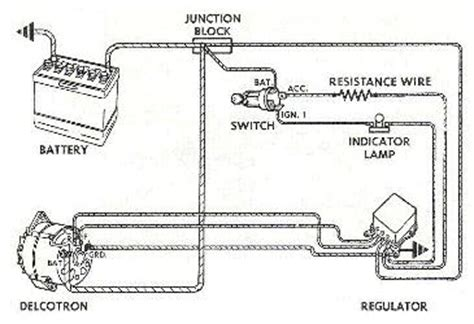 Alternator Wiring Diagram 1957 by Object Moved