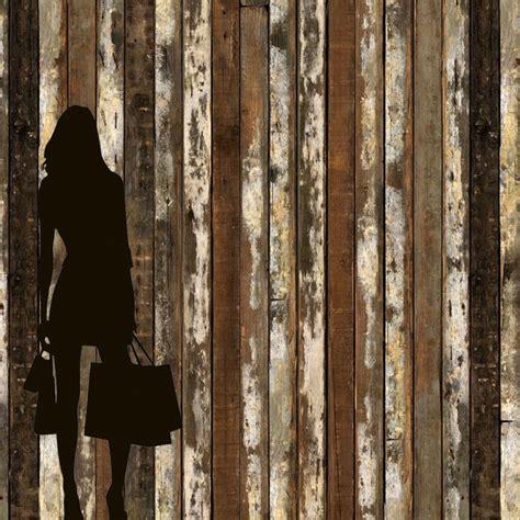 scrapwood  wallpaper distressed wood wallpaper wood