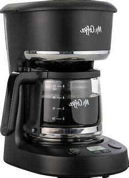 Now, selecting the size of coffee maker can be tricky because every. Mr. Coffee 5-Cup Programmable Coffee Maker, Brew later