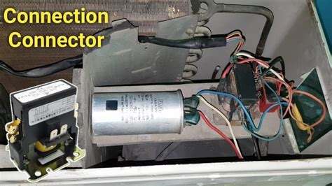 air conditioner magnetic contactor wiring connection outdoor unit
