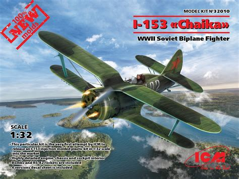 I-153, Wwii Soviet Fighter (100% New Molds) » Icm Holding