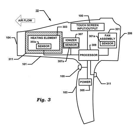 patent us20130291394 hair dryer with touch screen patents