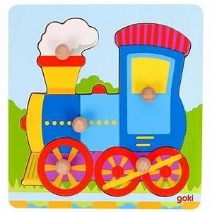 Puzzle En Bois Bébé : puzzle b b en bois locomotive ~ Dode.kayakingforconservation.com Idées de Décoration