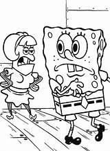 Spongebob Coloring Krusty Krab Guest Crab Drawing Luna Getdrawings Template sketch template