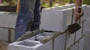 Monter Mur En Parpaing : monter un muret en parpaings entretenez et embellissez ~ Premium-room.com Idées de Décoration