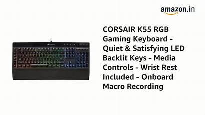 Keyboard Corsair Satisfying Onboard K55 Backlit Controls