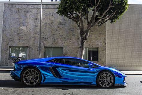 blue chrome lamborghini aventador blue chrome lamborghini lp700 supercars tuning
