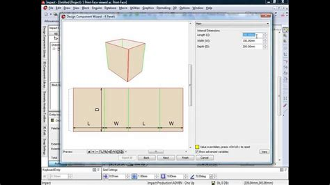 packaging design software impact cad packaging design software design components