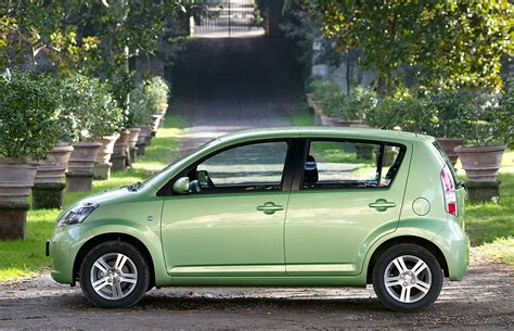daihatsu sirion hatchback review   parkers